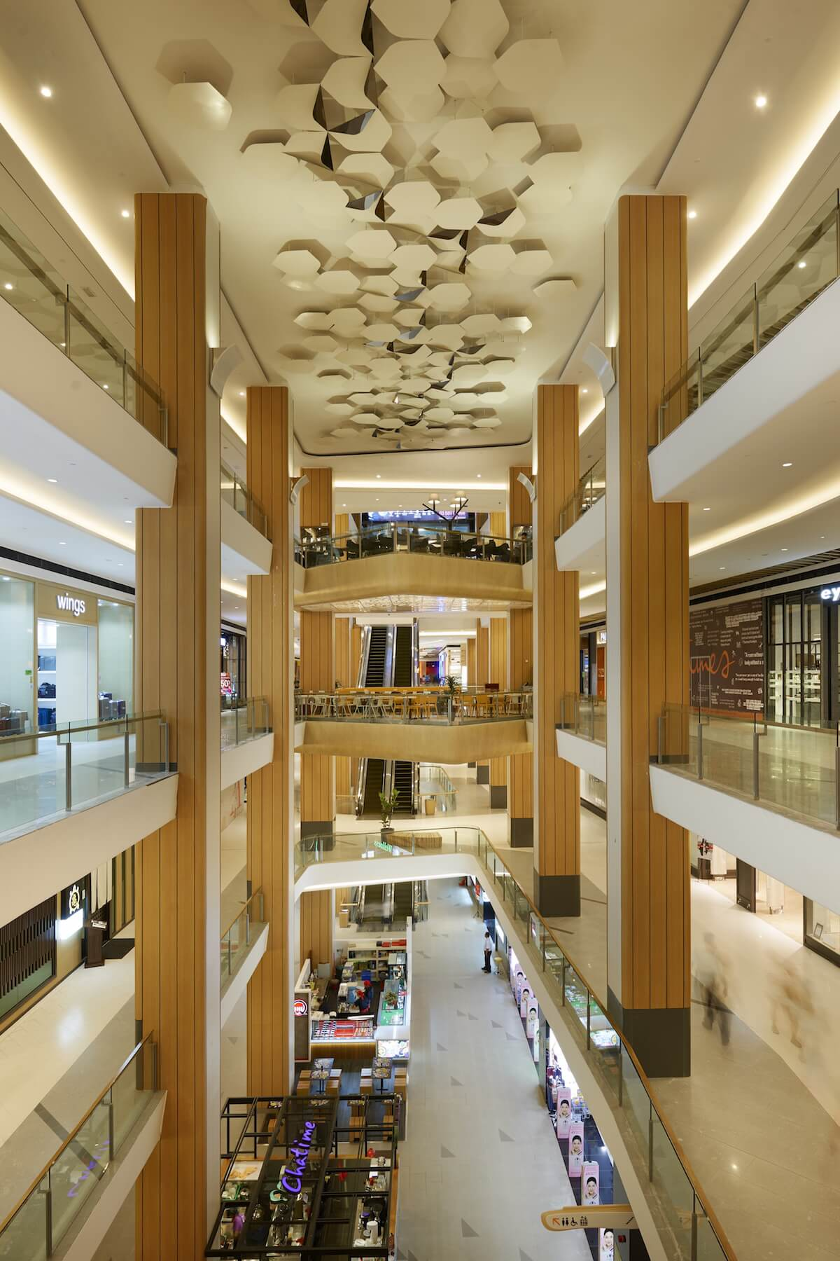 Atria Mall at Damansara by Blu Water Studio