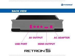 Retron 5 conectores