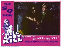 Movie Kill Baby Kill 1966 Poster