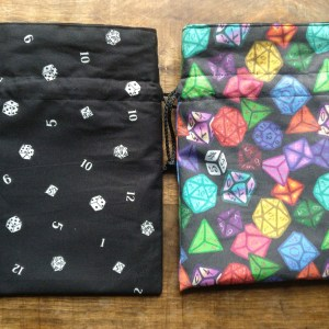 Dice and Board Game Bags