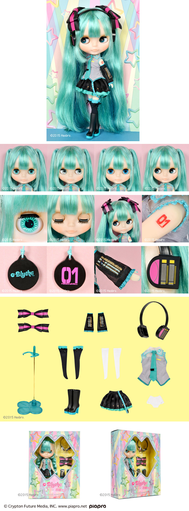 Blythe, hatsune miku, japanese, idol, limited edition