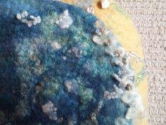 seashore felt bag wool silk shells blythwhimsies 10