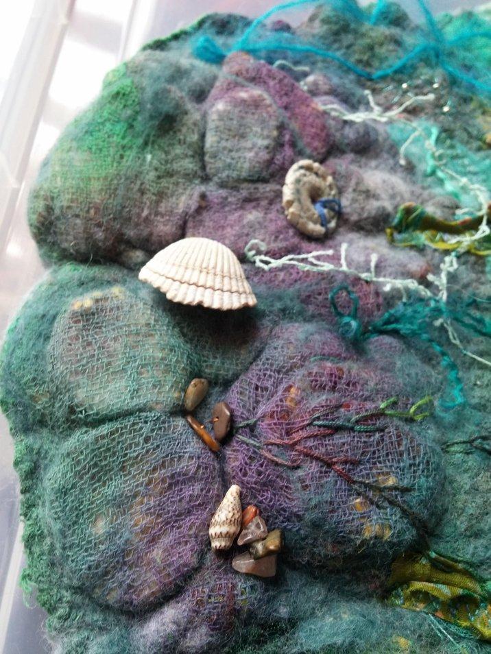 rockpool seashore southwold felt art blythwhimsies 2 2016-04-14 16.56.48