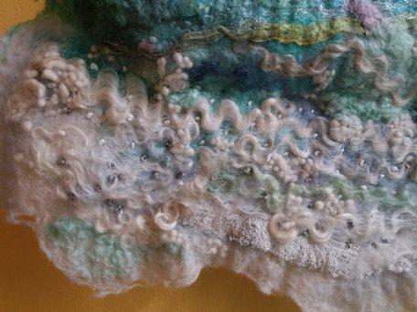 Ocean Wave felt silk wall hanging blythwhimsies 5 2016-05-17 10.54.32