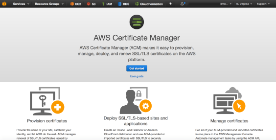 Getting started with AWS Certificate Manager (and Route53 ...