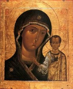 Казанська iкона Божої Матері