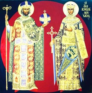 Рівноапостольні Костянтин та Олена. День пам'яті 3 червня