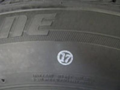 cifr - Точки на шинах обозначения