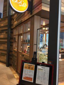 中央区 電源カフェ cafe&bakery GGCo. 入口