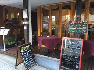 蔵前四丁目カフェ 入口 電源