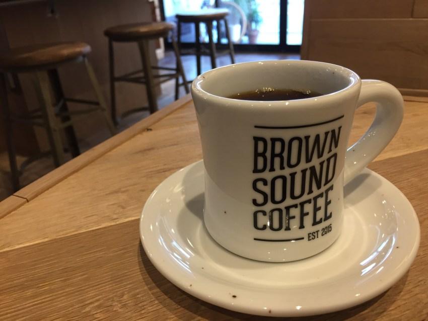 BROWNSOUNDCOFFEE 電源カフェ コーヒー 津田沼