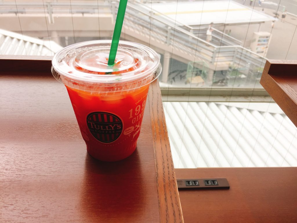 新津田沼駅 電源カフェ タリーズコーヒーイオンモール津田沼店