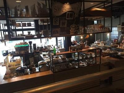 北千住 SLOW JET COFFEE 電源カフェ 店内