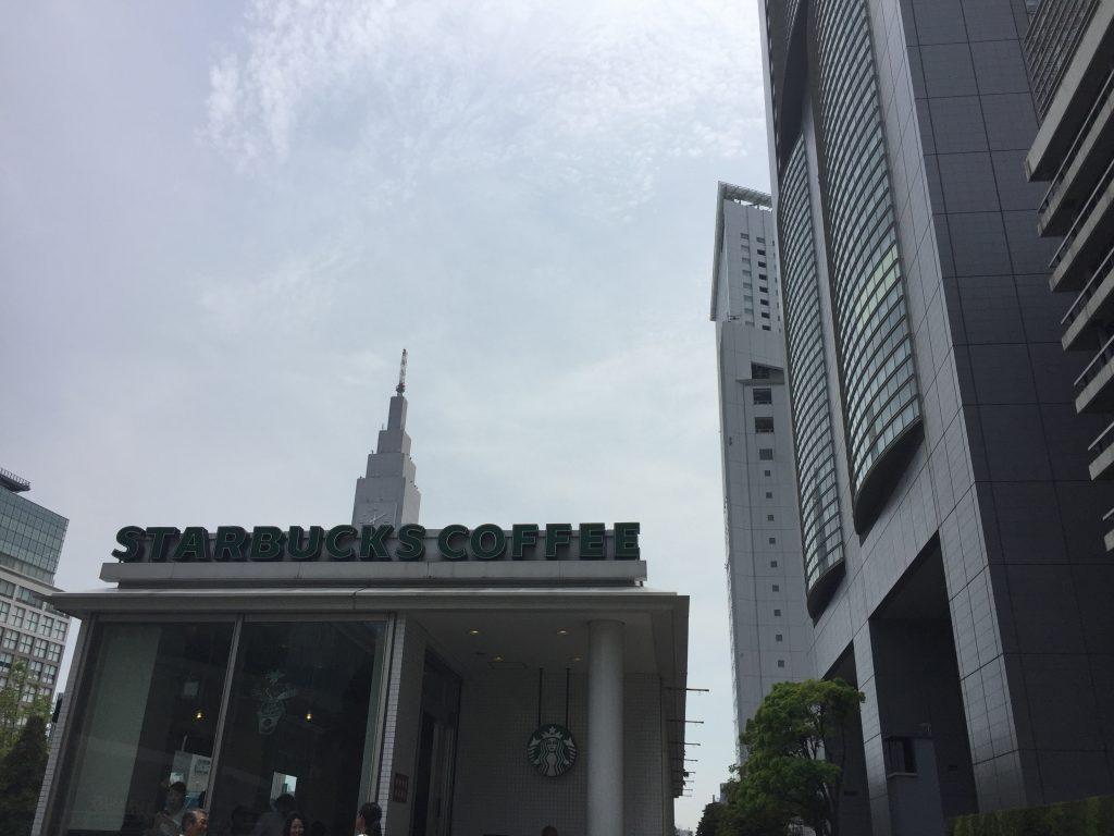 新宿駅南口 電源カフェ スターバックス新宿サザンテラス店