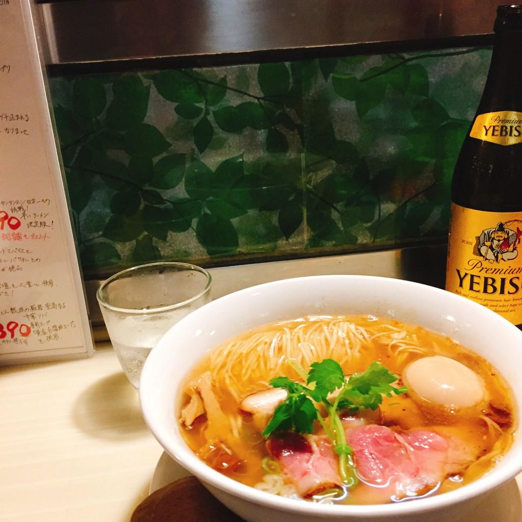 麺割烹亀壱 醤油ラーメン 稲庭中華そば