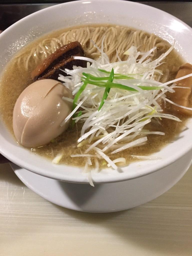 亀壱 牡蠣ラーメン