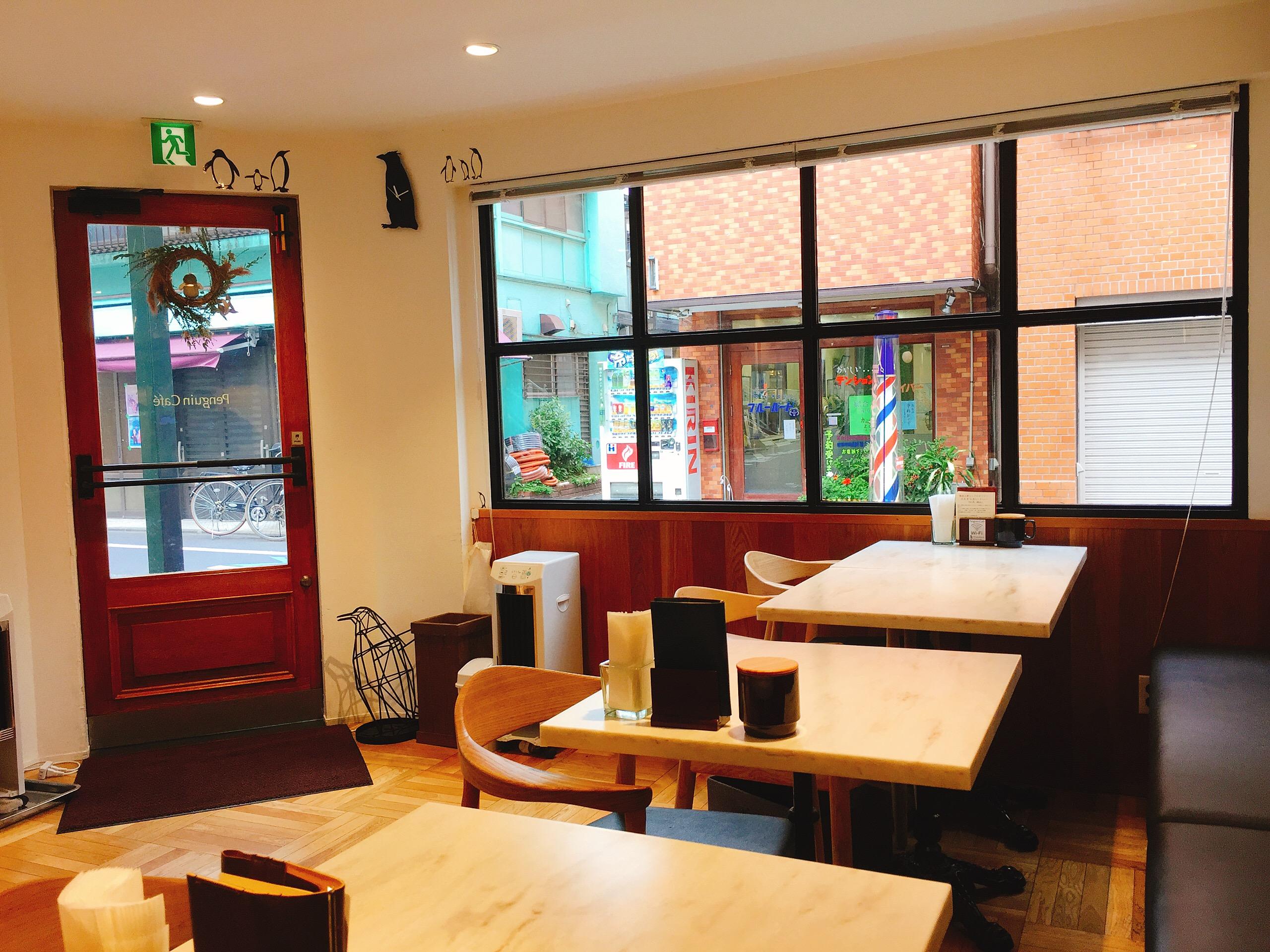 東京都阿佐ヶ谷 Penguin Café (ペンギンカフェ) 内観