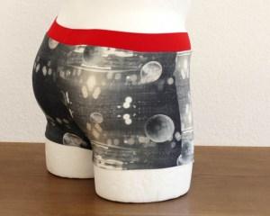 """Retro-Herrenslip, Modell """"Outer Space"""""""