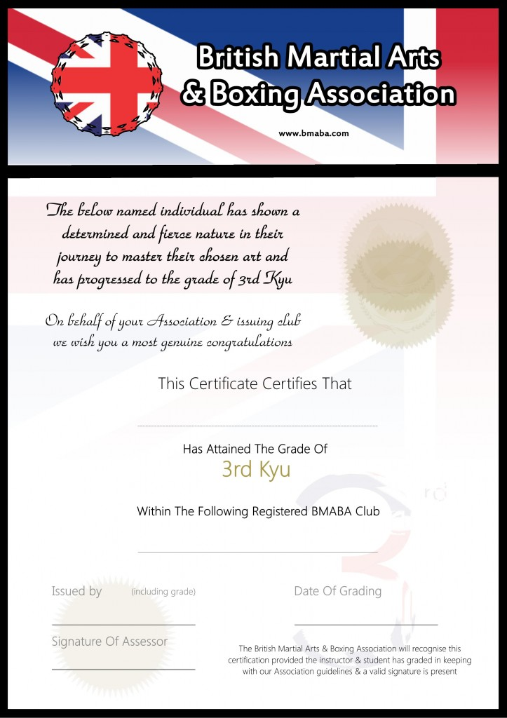 free blank certificates