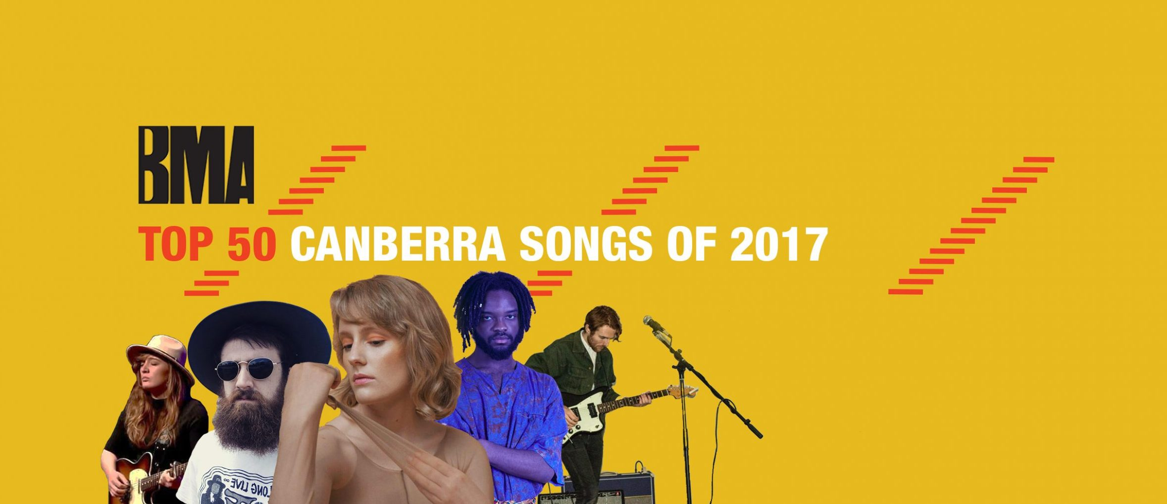 BMA's Top 50 Canberra Songs Of 2017