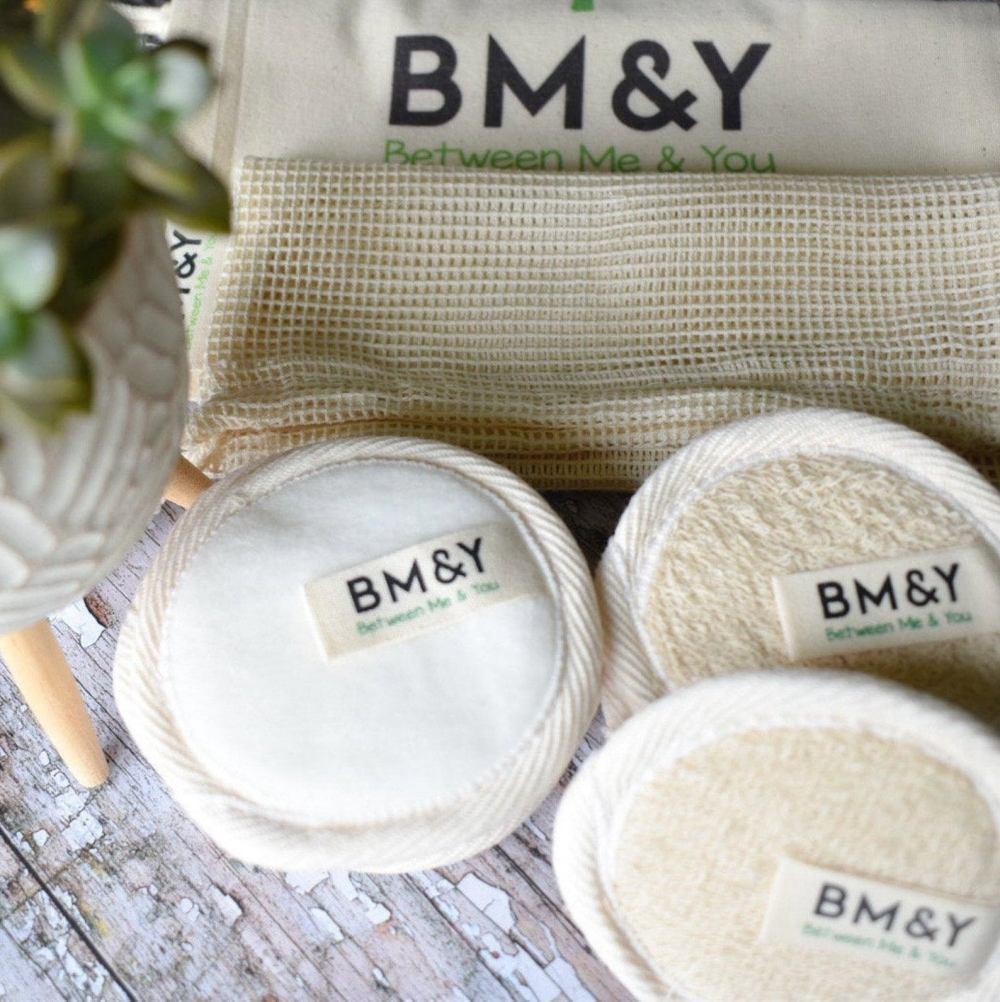 Bamboo Cotton Makeup Remover Pads