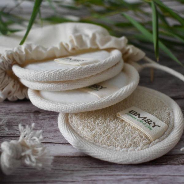 Reusable Bamboo Cotton Pads Makeup Remover