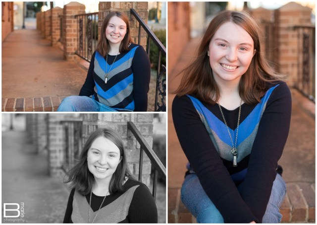 Nacogdoches photographer outdoor senior portrait of high school senior girl