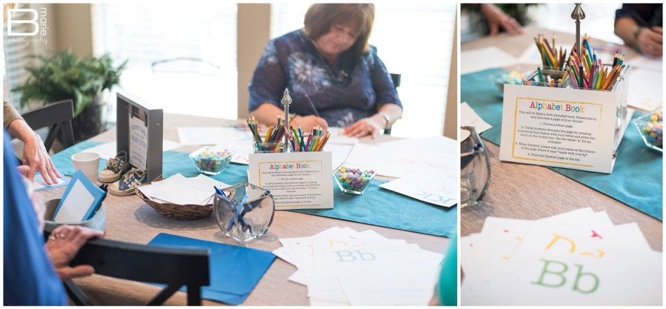 Nacogdoches photographer images of baby shower for little boy with car-themed details