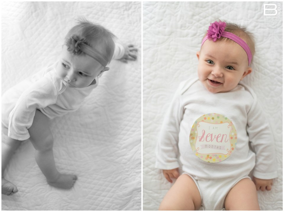 Nacogdoches photographer image of 7 month old daughter, Pumpkin