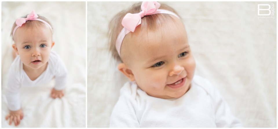 Houston photographer image of daughter Pumpkin for letter to her at 10 months old
