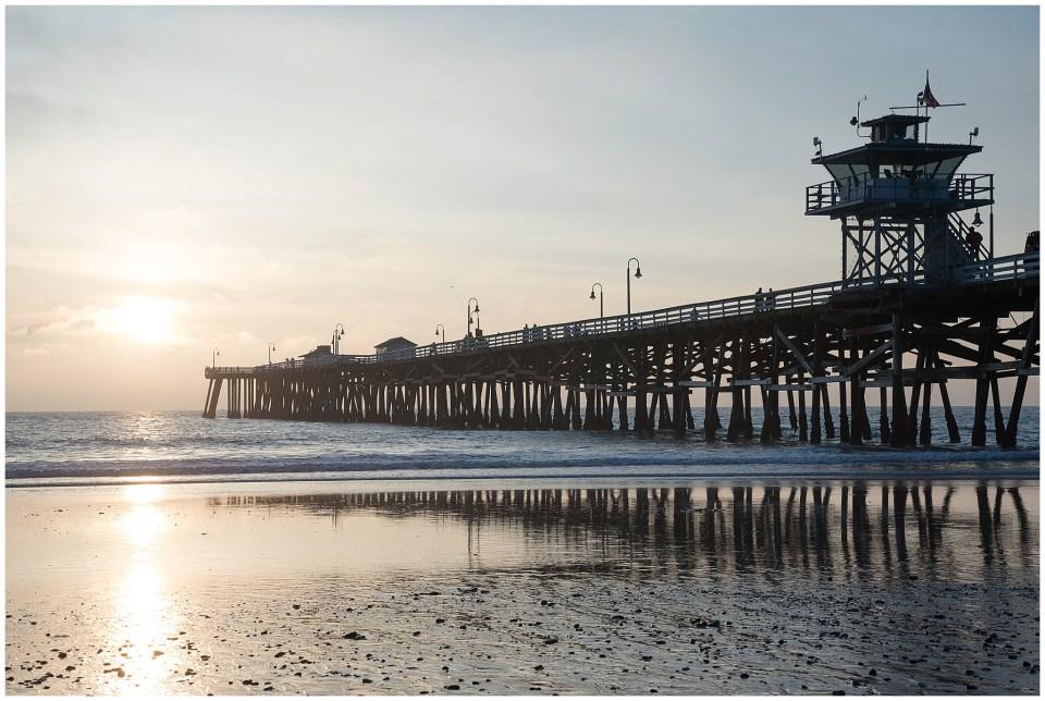 Kingwood Photographer images of San Clemente pier