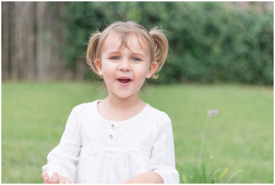 Kingwood photographer's images of 3 year old daughter, Pumpkin, in letter for her birthday