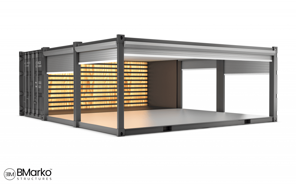 Shipping Container Restaurant 5