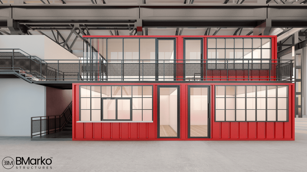 Shipping Container Coworking Space