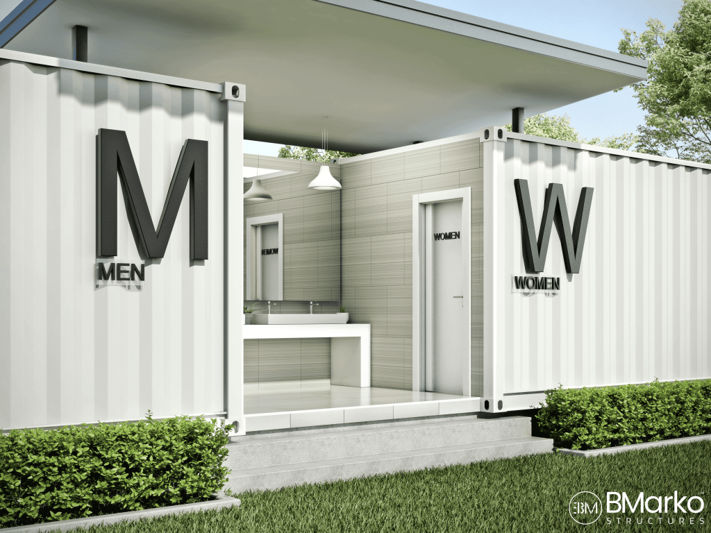 Shipping Container Restrooms
