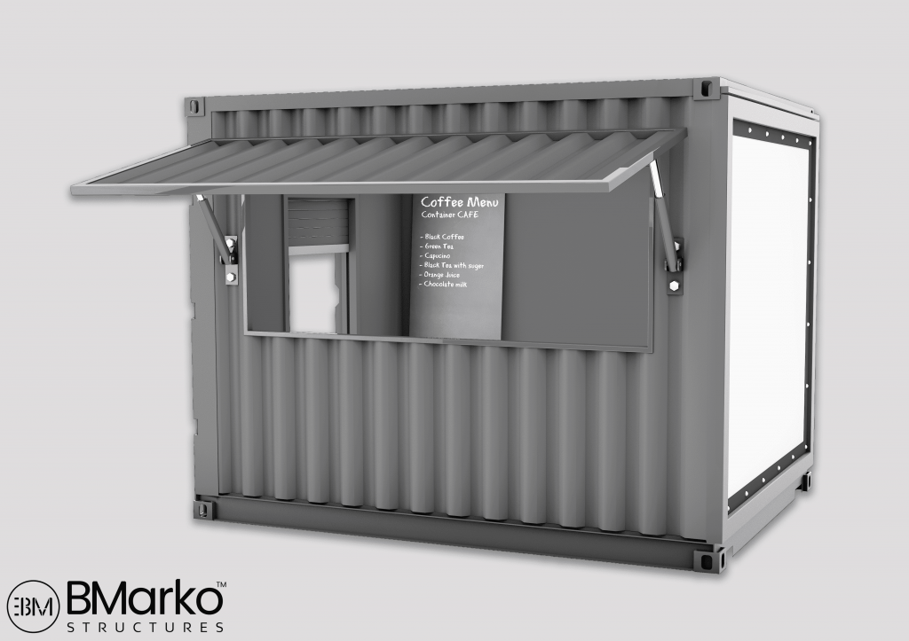 Shipping Container Coffee House