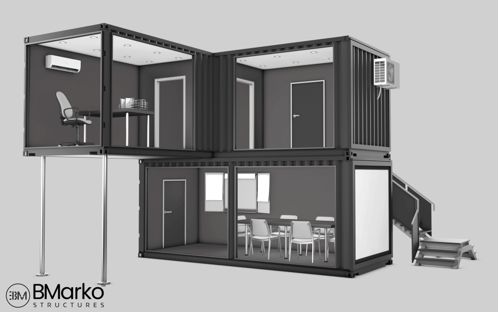 Shipping Container Office 3