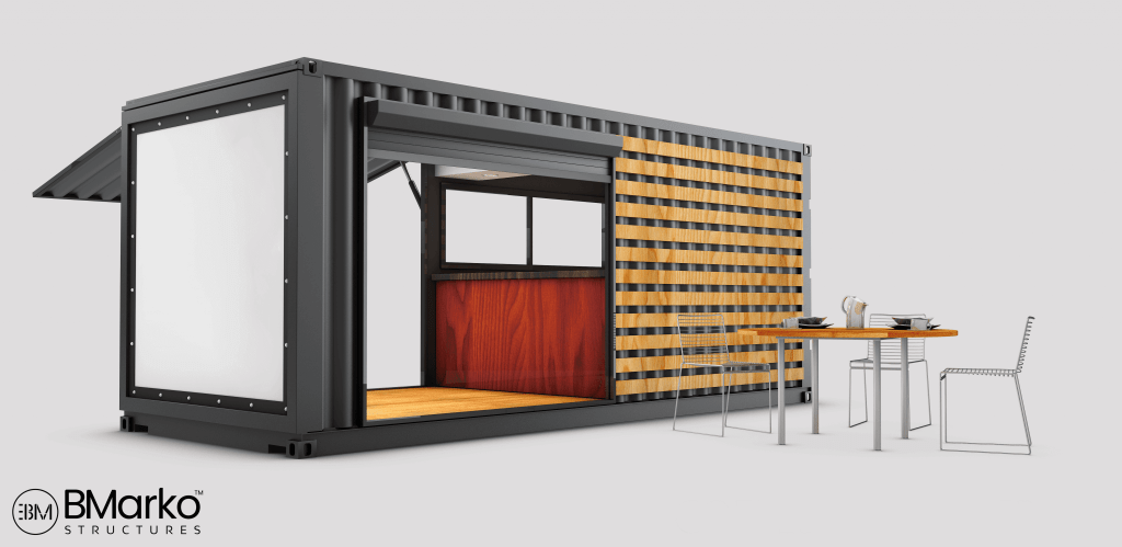 Shipping Container Restaurant 1