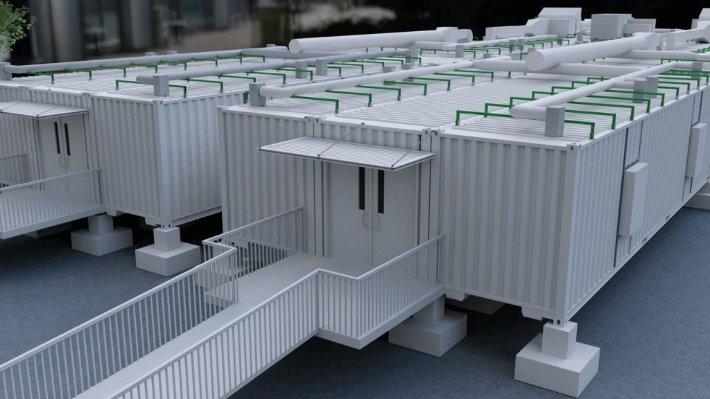 Shipping Container Hospital 3