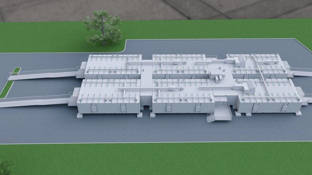 Shipping Container Hospital 2