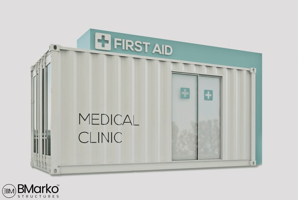 Shipping Container First Aid Station 2