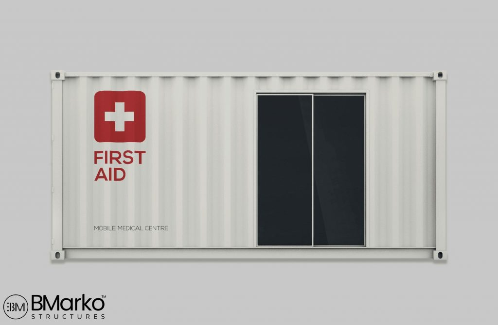 Shipping Container First Aid Station