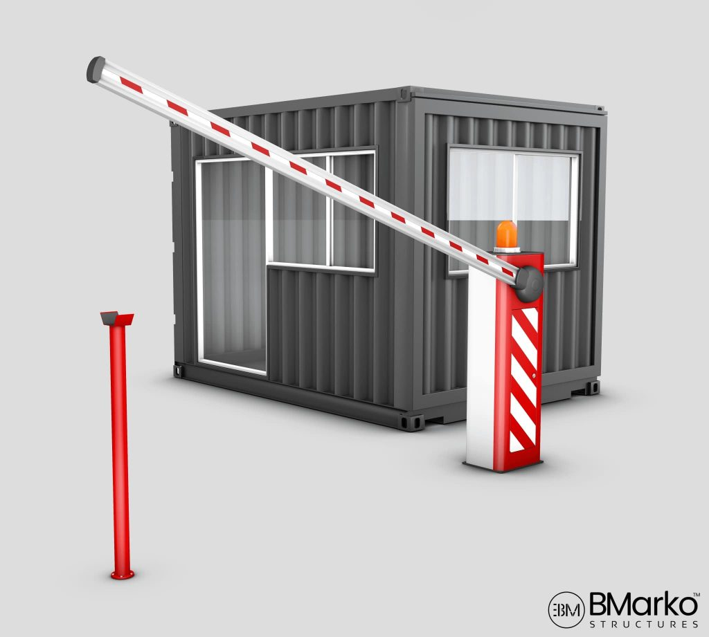 Shipping Container Guard Shack
