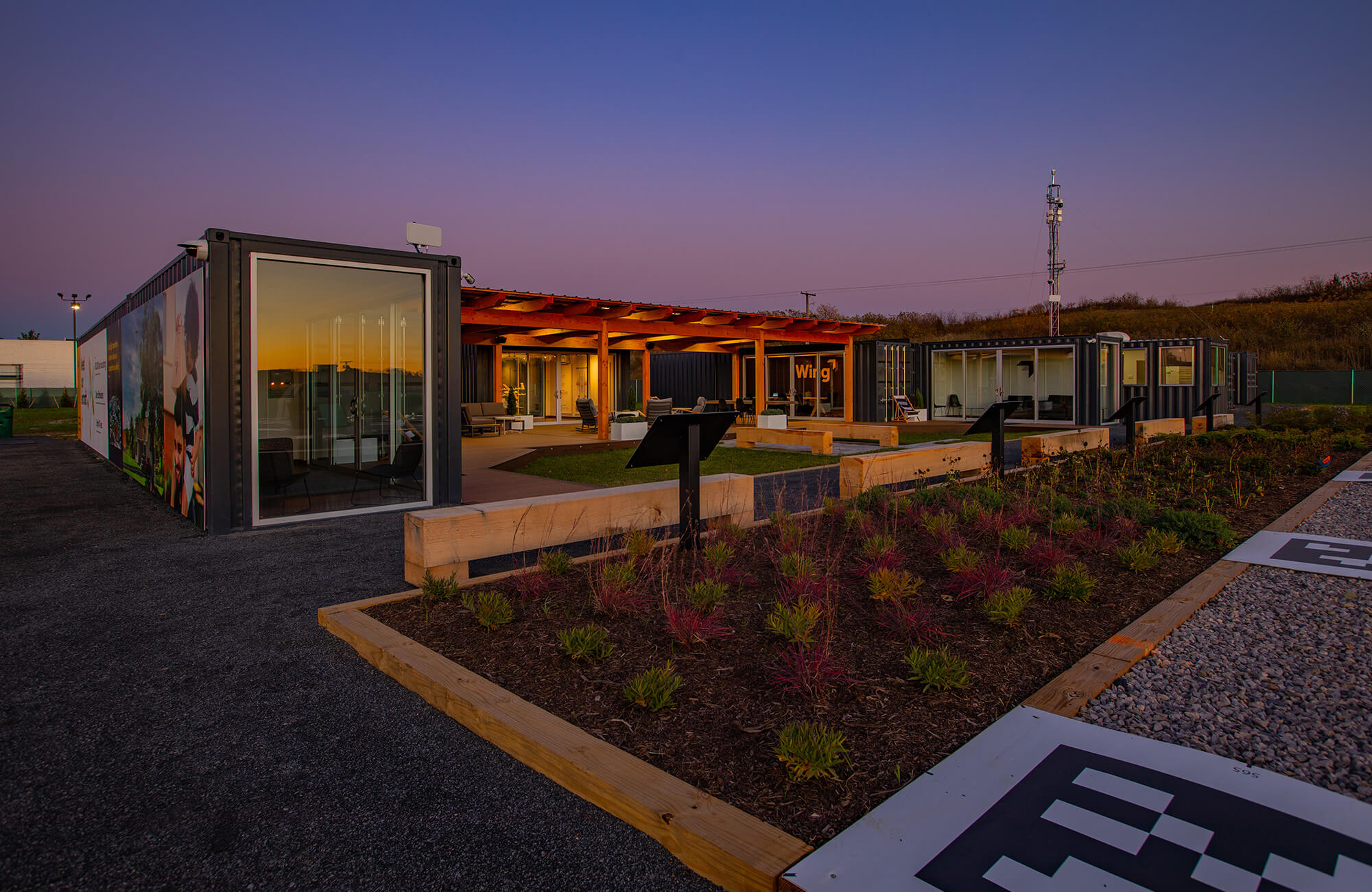 Shipping Container Office