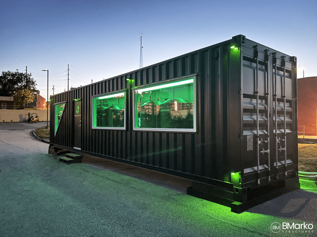 shipping container water treatment plant