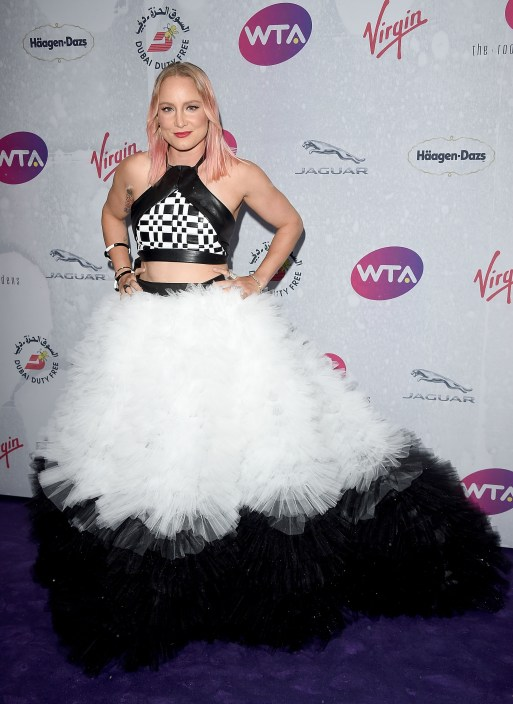 bethanie mattek-sands on the red carpet