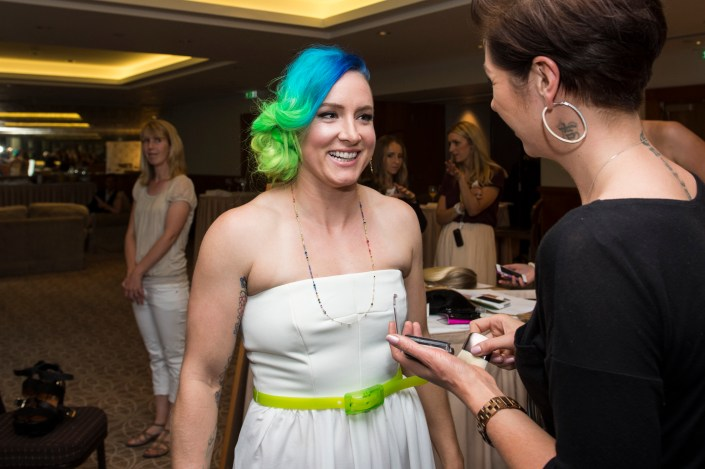 bethanie mattek-sands getting glam