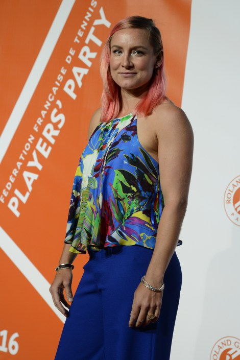 bethanie mattek-sands french open player party