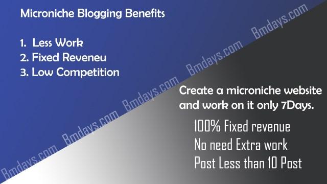 Benefits of microniche blogging