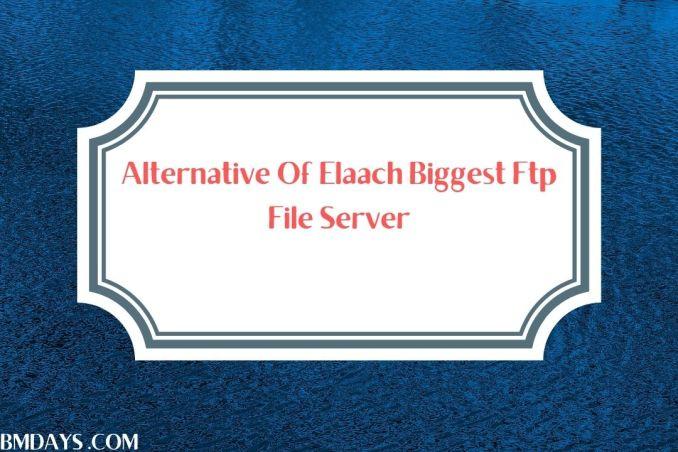 Alternative for Elaach ftp server